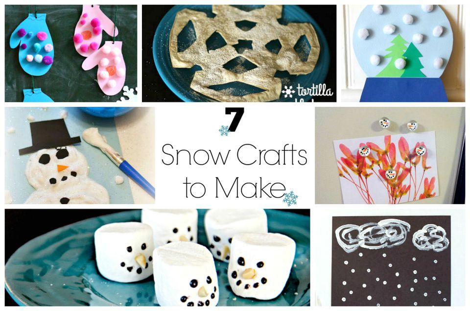 7 Snow Crafts to Make