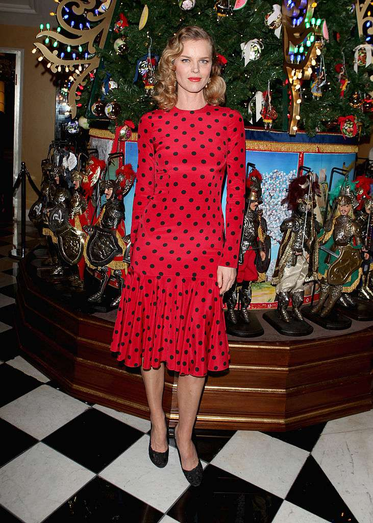 Party attire and dress codes for special occasions eva herzigova attends claridges christmas tree by dolce gabbana launch party at claridges hotel on stopboris Choice Image