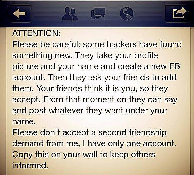 Facebook Profile Hackers
