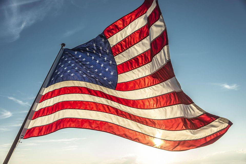 American flag etiquette care and display guidelines sciox Choice Image