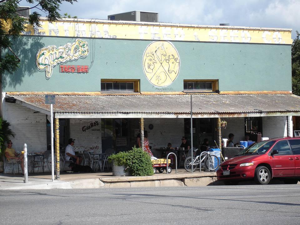 Guero's Taco Bar on South Congress in Austin