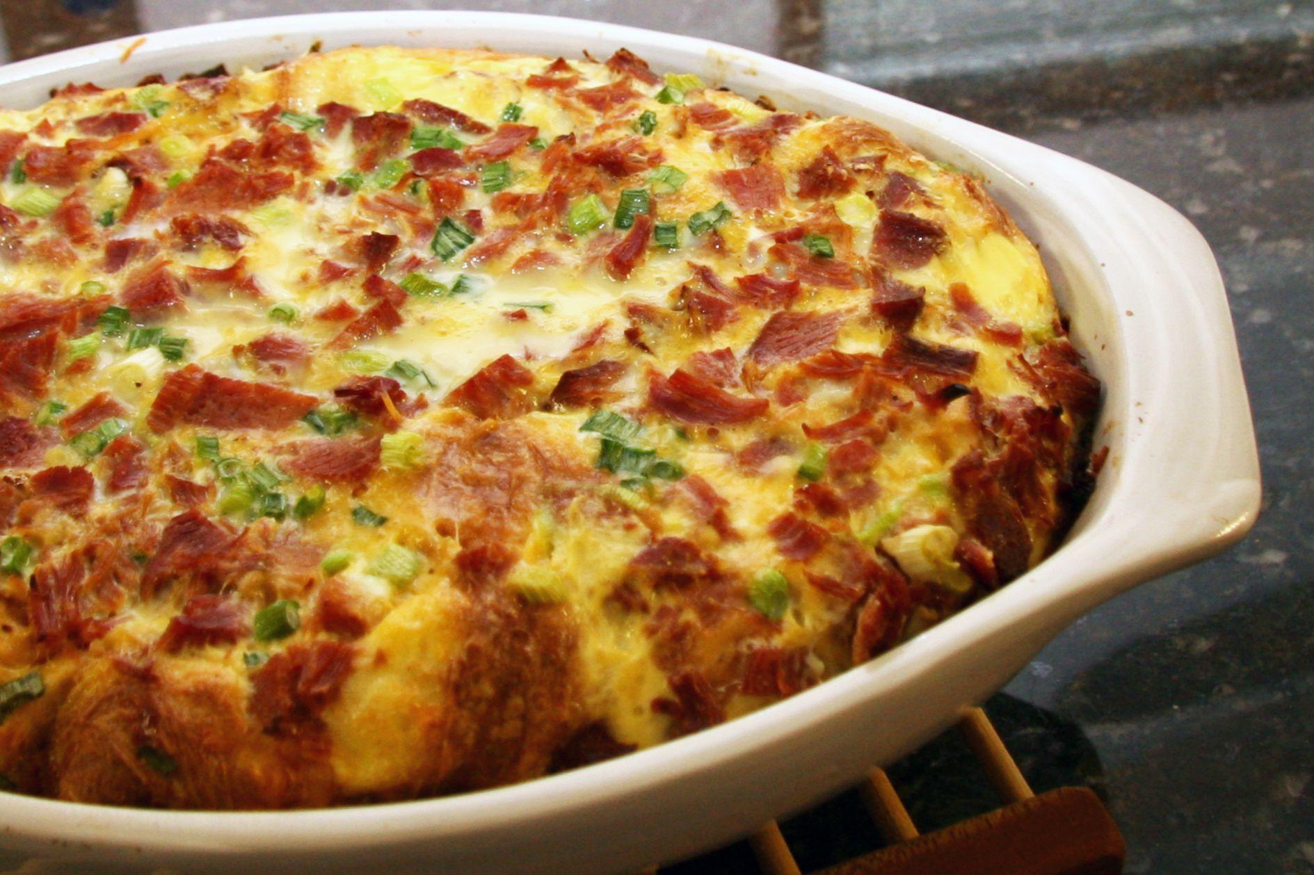 Vegetable Egg Casserole Recipes
