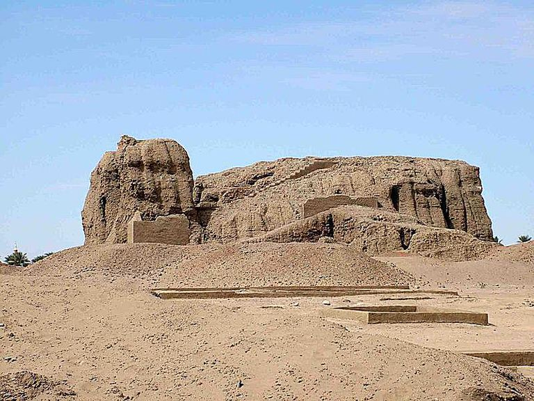 Western Deffufa in ancient city of Kerma, Nubia, Sudan