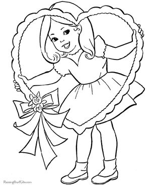 raising our kids free valentines day coloring pages - Valentine Free Coloring Pages