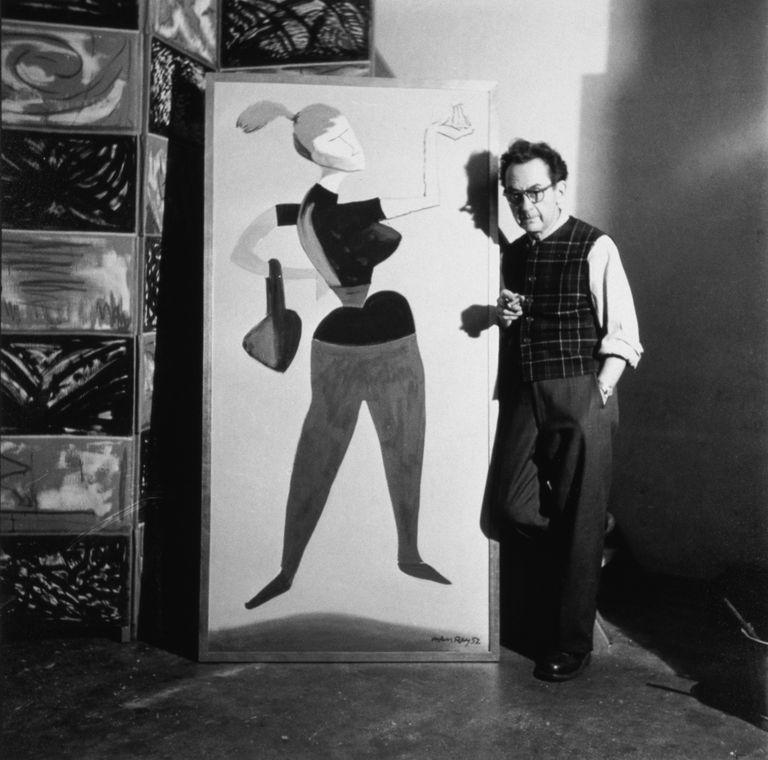 Man Ray, circa 1952