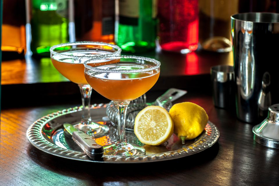 The Classic Brandy Daisy Cocktail
