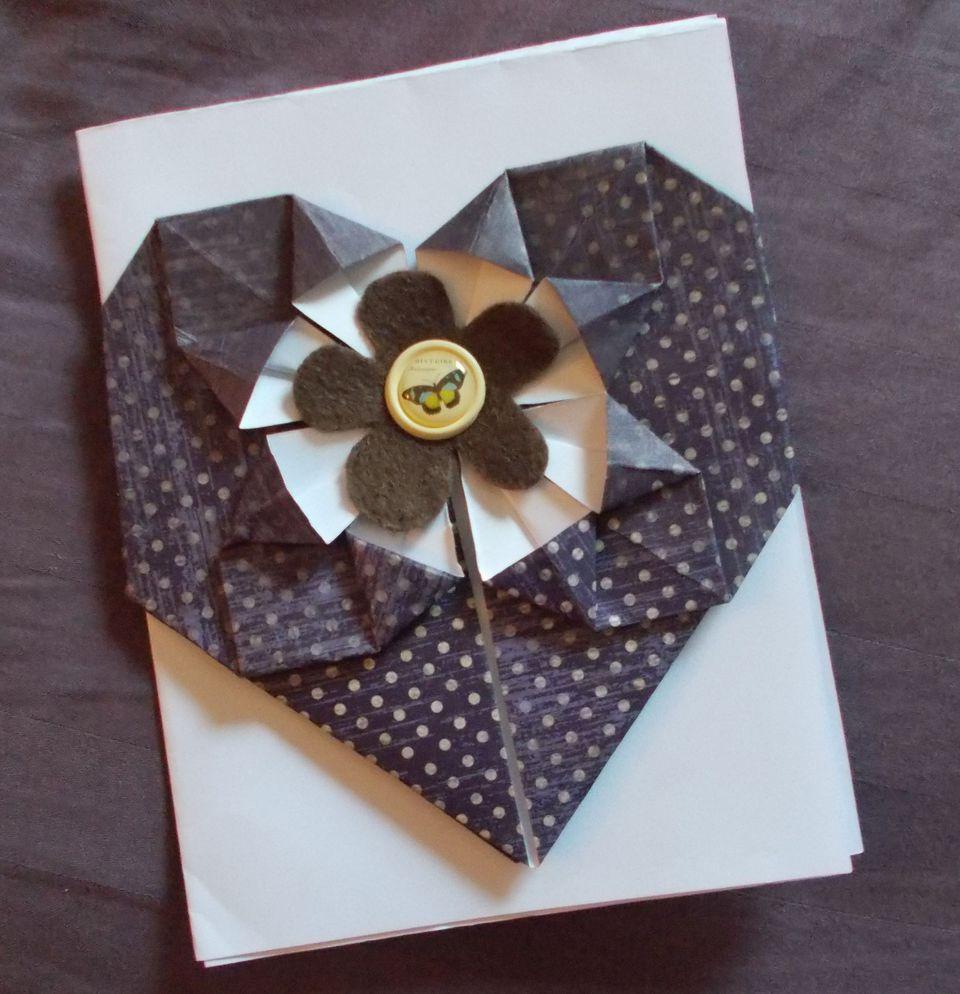 Смотреть открытки оригами, мая