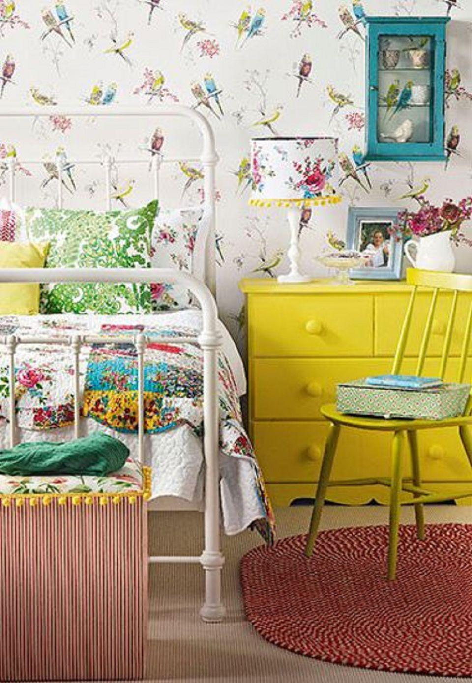 Vintage bedroom decorating ideas and photos - Habitaciones vintage chic ...