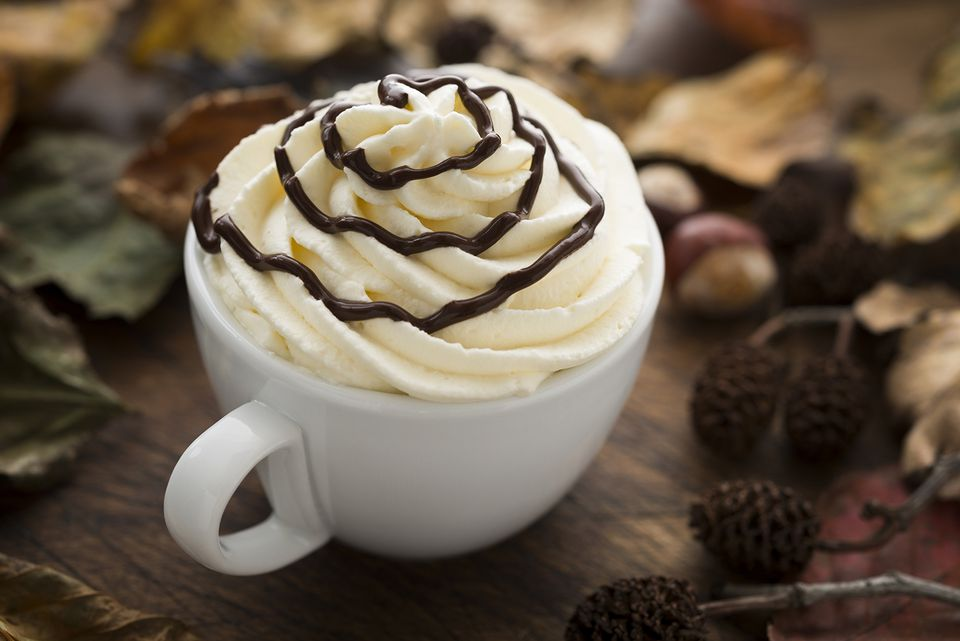 The Chocolate Kiss is a spike hot chocolate drink.