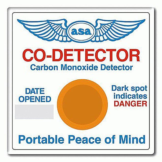 CO detector badge