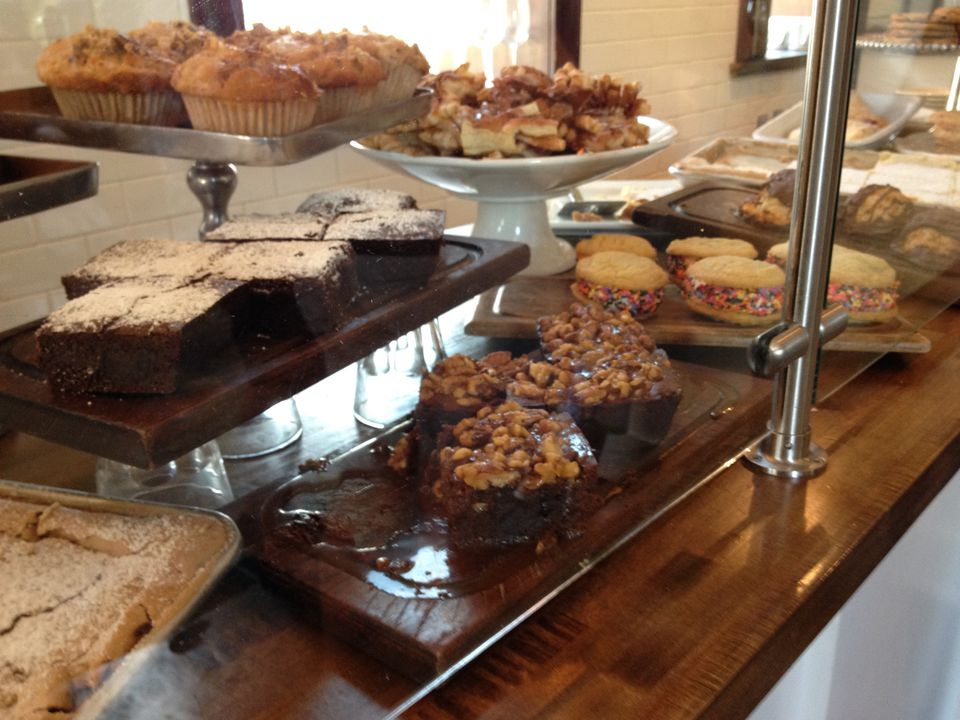 Baked goods at Russell's on Macklind