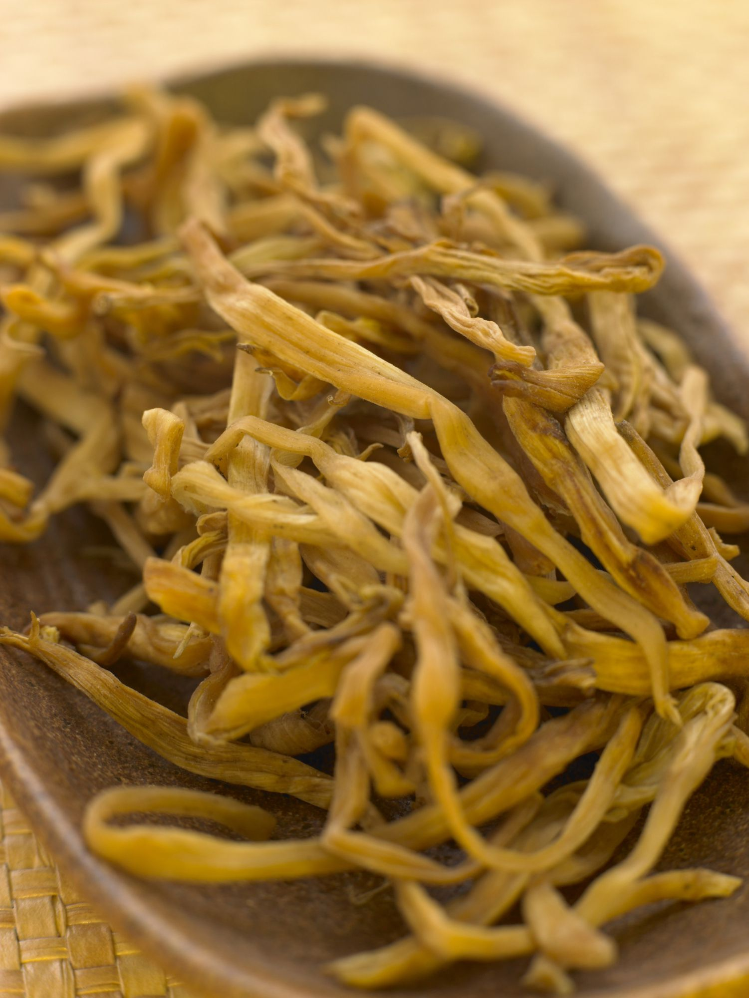 A Traditional Chinese Ingredient Dried Lily Buds