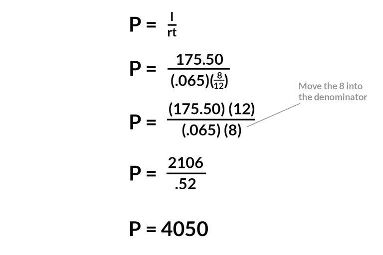 interest principal calculator