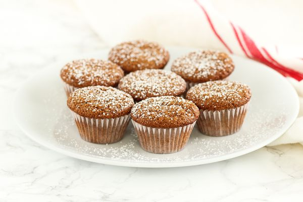 Whole Wheat Mini Gingerbread Muffins_Kaleigh McMordie