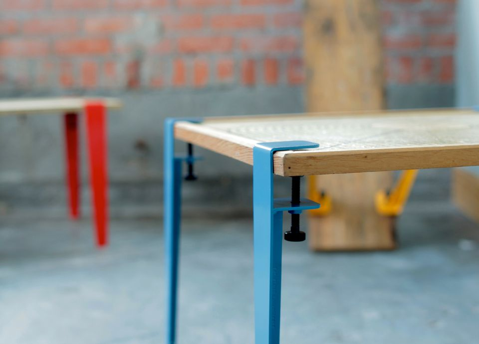 table made from tools