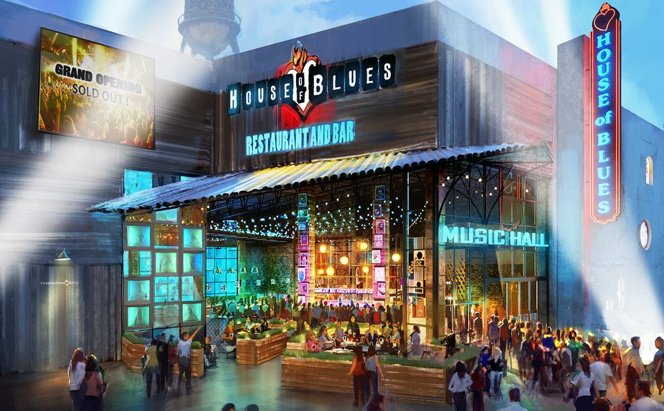 7 new reasons to visit los angeles in 2017 - House of blues anaheim garden walk ...