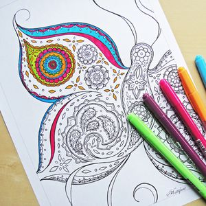 free printable adult coloring pages from hattifant - Printable Coloring Images