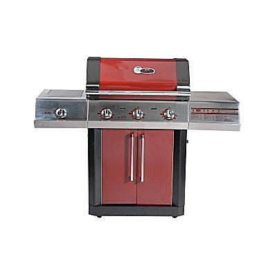 Char-Broil Red 3-Zone Gas grill