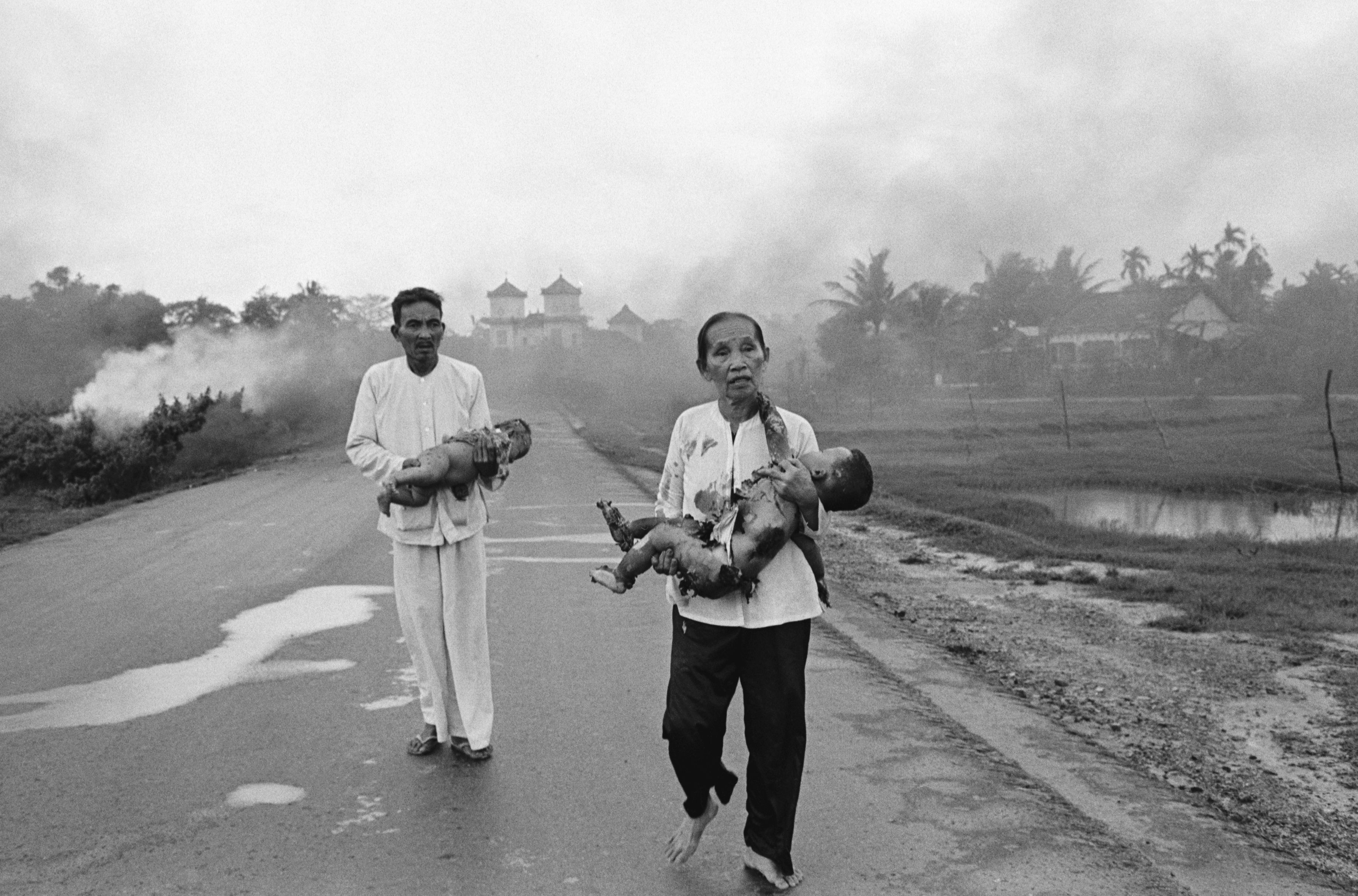 Napalm and Agent Orange in the Vietnam War