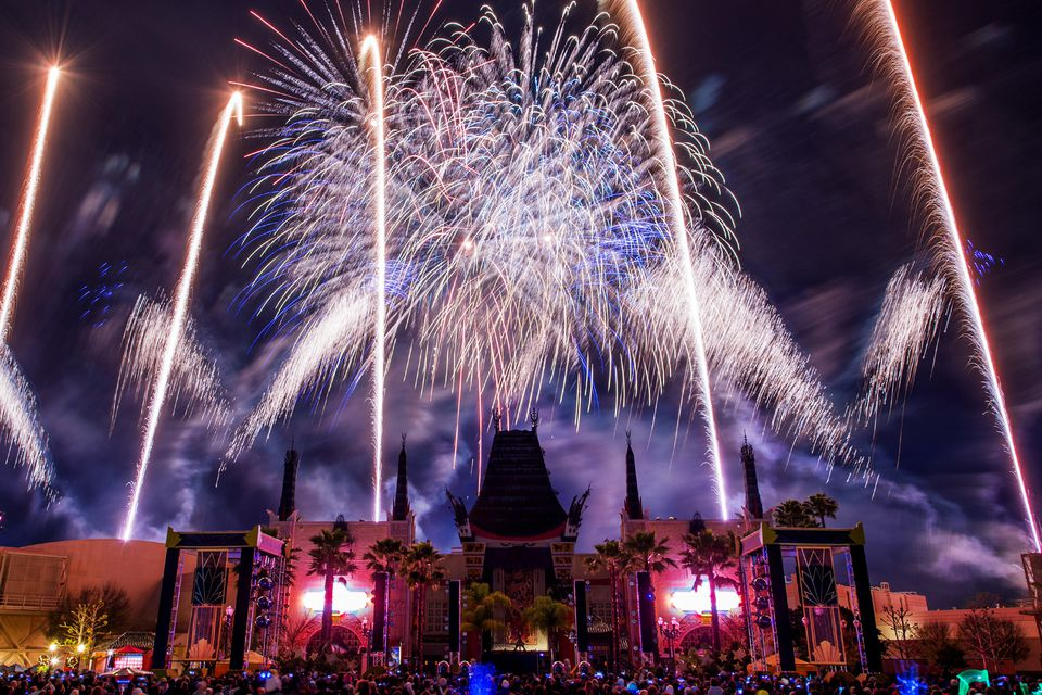 Symphony in the Stars: A Galactic Spectacular fireworks at Disney's Hollywood Studios