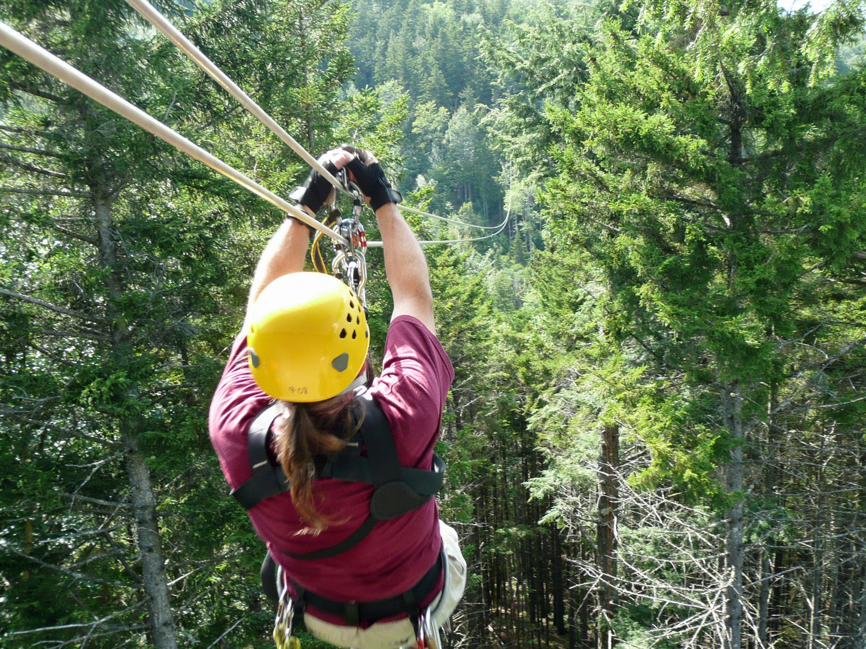 Best Zipline In New England Bretton Woods Canopy Tour