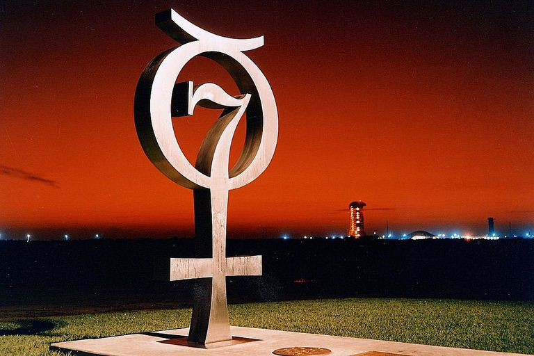 Mercury 7 monument