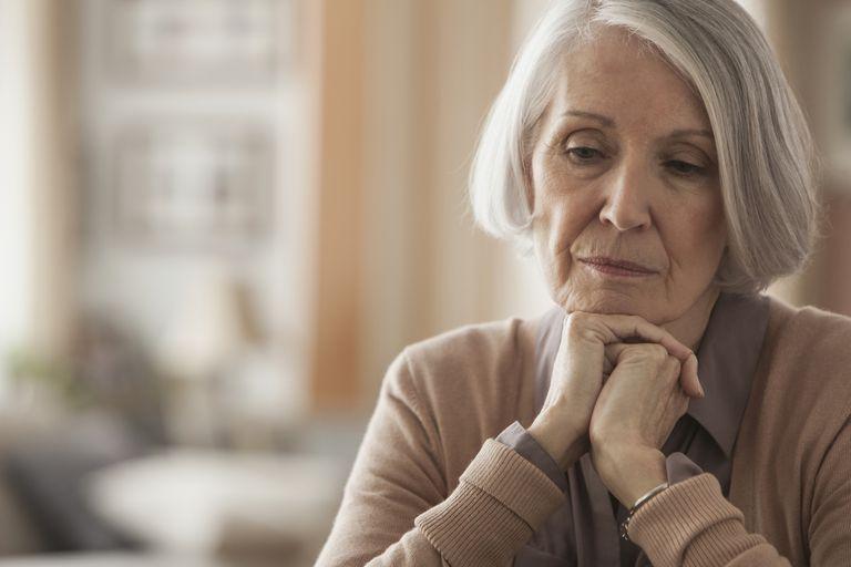 Elderly woman fatigue
