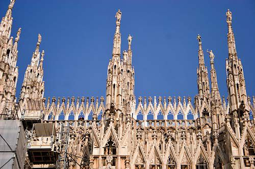 milan duomo picture, milan cathedral, italy, picture