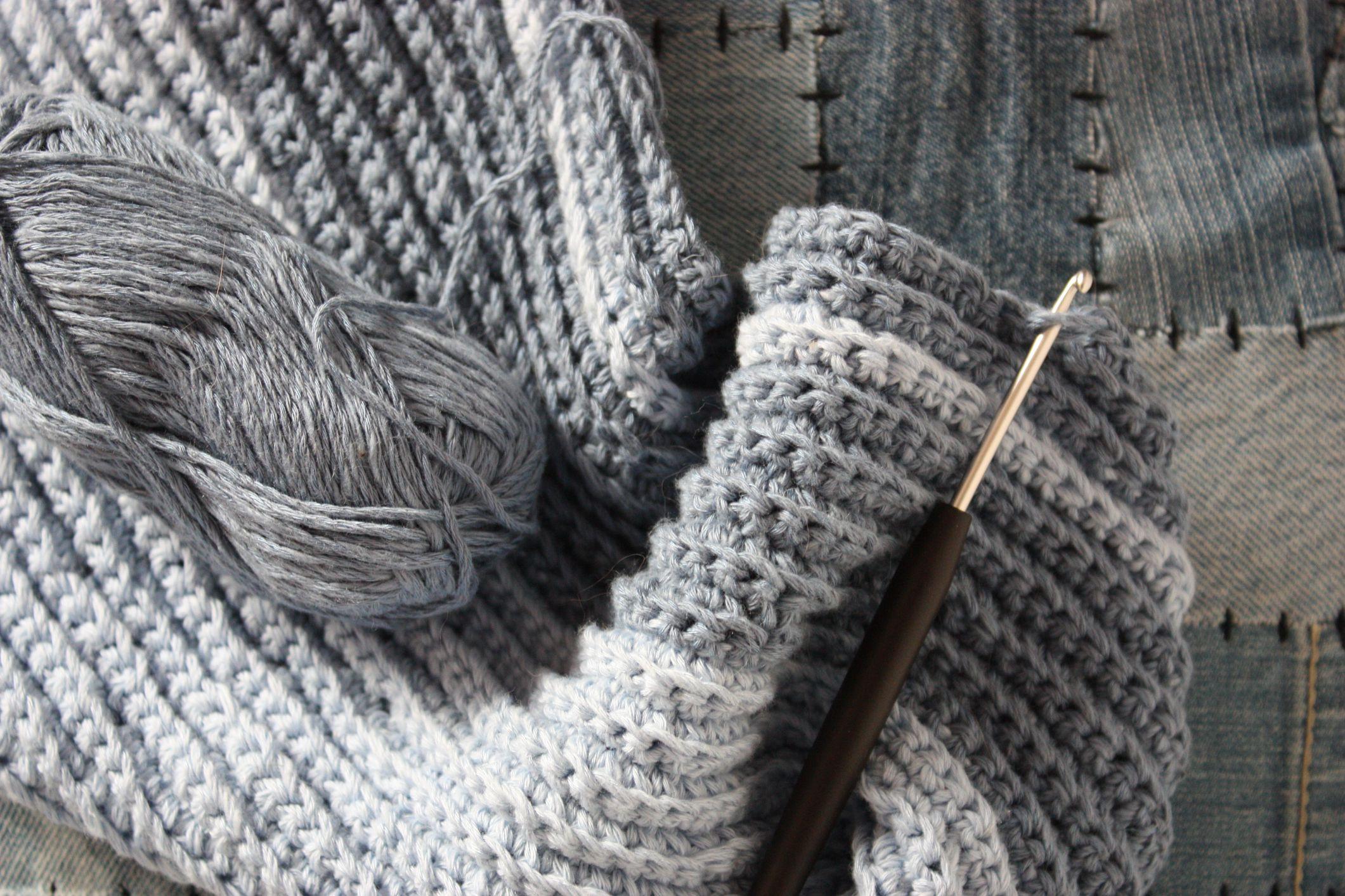Easy crochet scarf free pattern using moss stitch perfect mens winter scarf free crochet pattern bankloansurffo Images