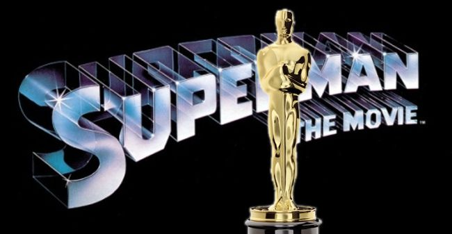 Photo of Superman movie with Academy Award