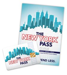 New York Pass Card & Guidebook