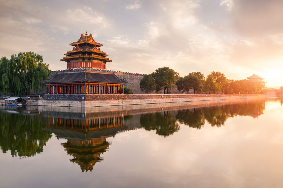 Corner of the Forbidden City, Beijing