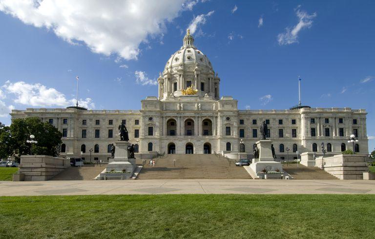 Cass Gilbert-designed Minnesota State Capitol, St. Paul, Minnesota