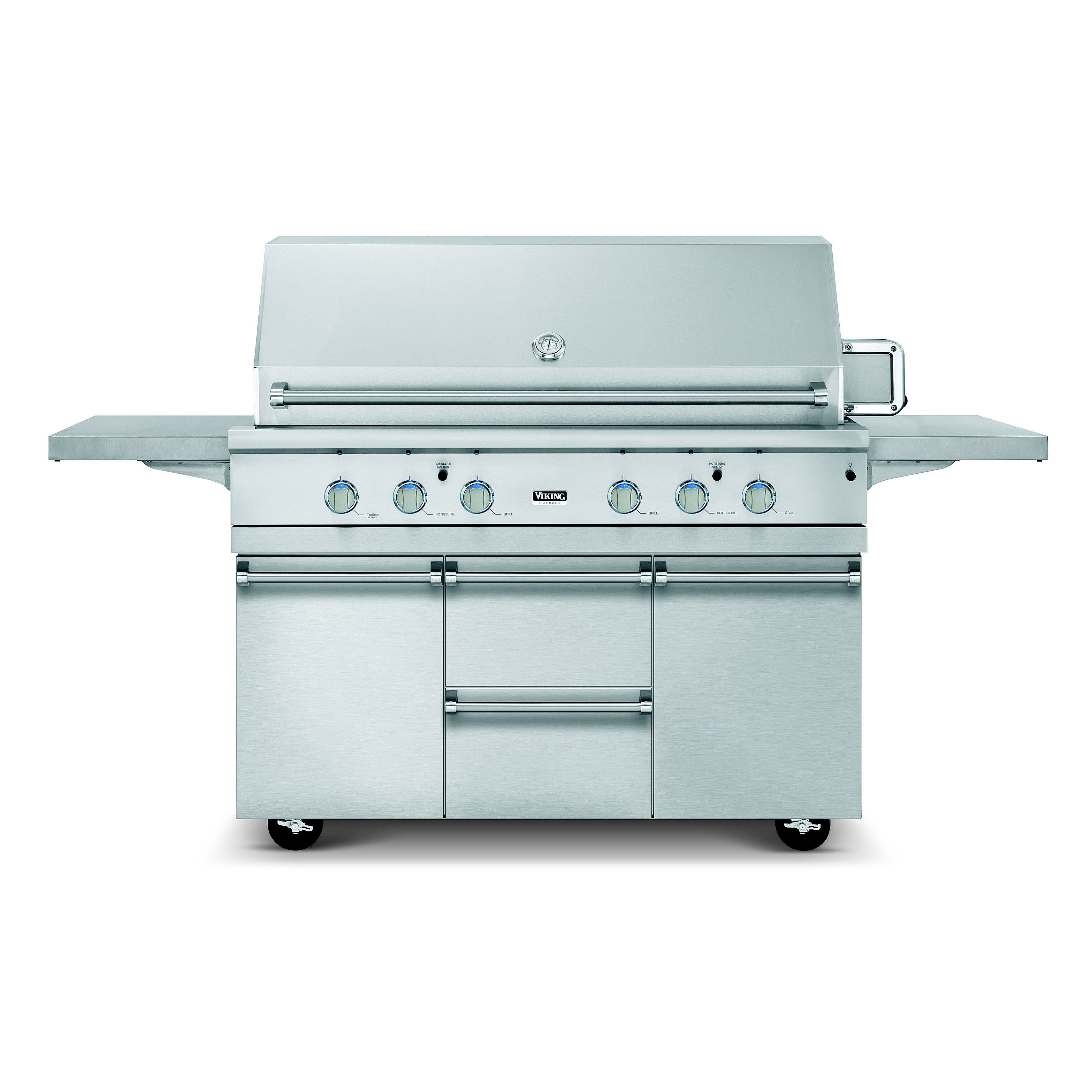 Viking ultra premium 54 inch gas grill review for Viking professional outdoor grill