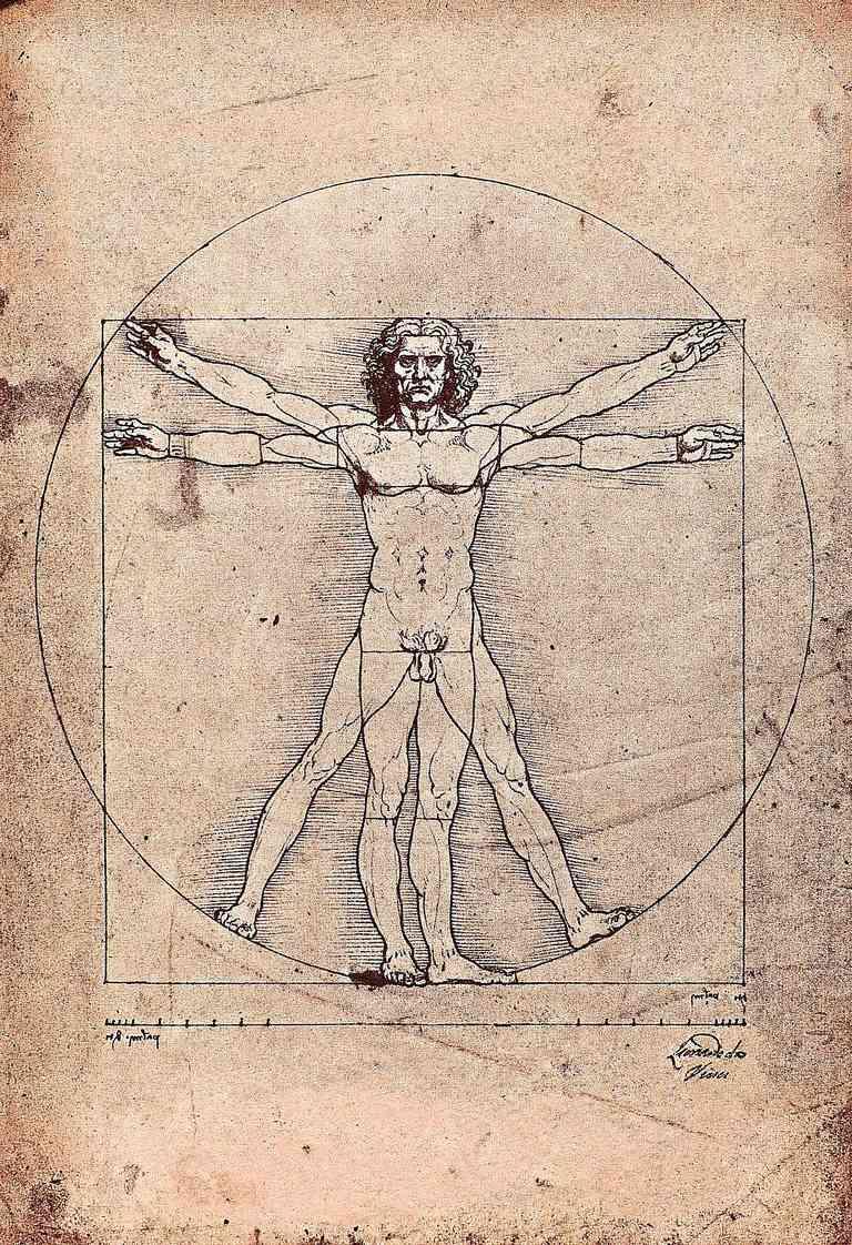 Da Vinci's Vitruvian Man
