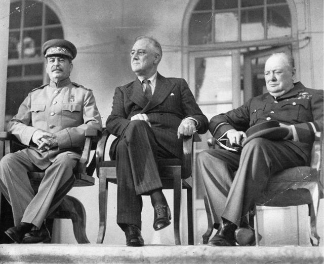 """The """"Big Three"""" in Tehran"""