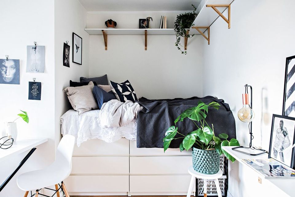 IKEA MALM Hack. 21 Best IKEA Storage Hacks for Small Bedrooms