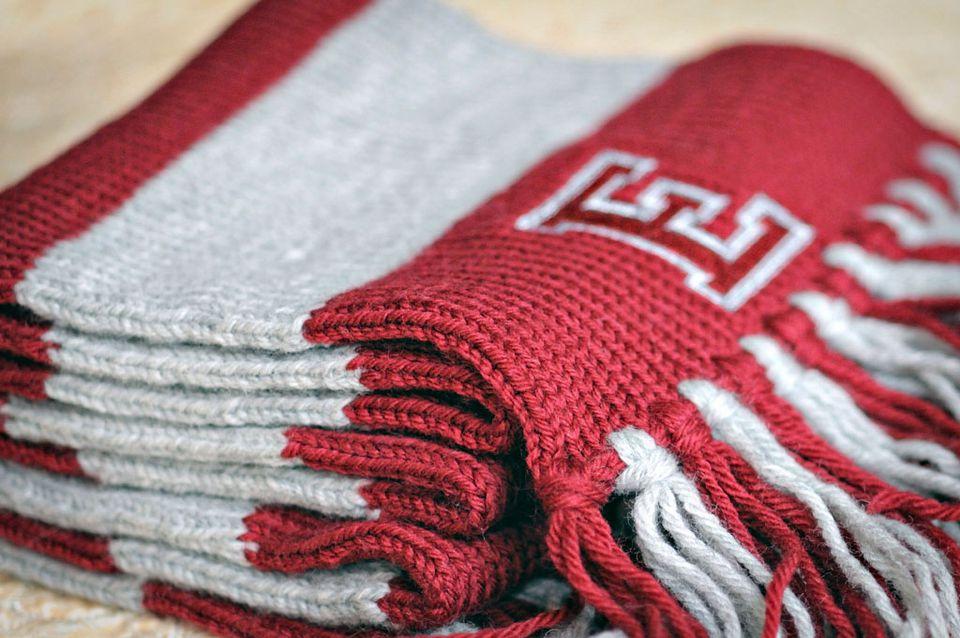 collegiate scarf