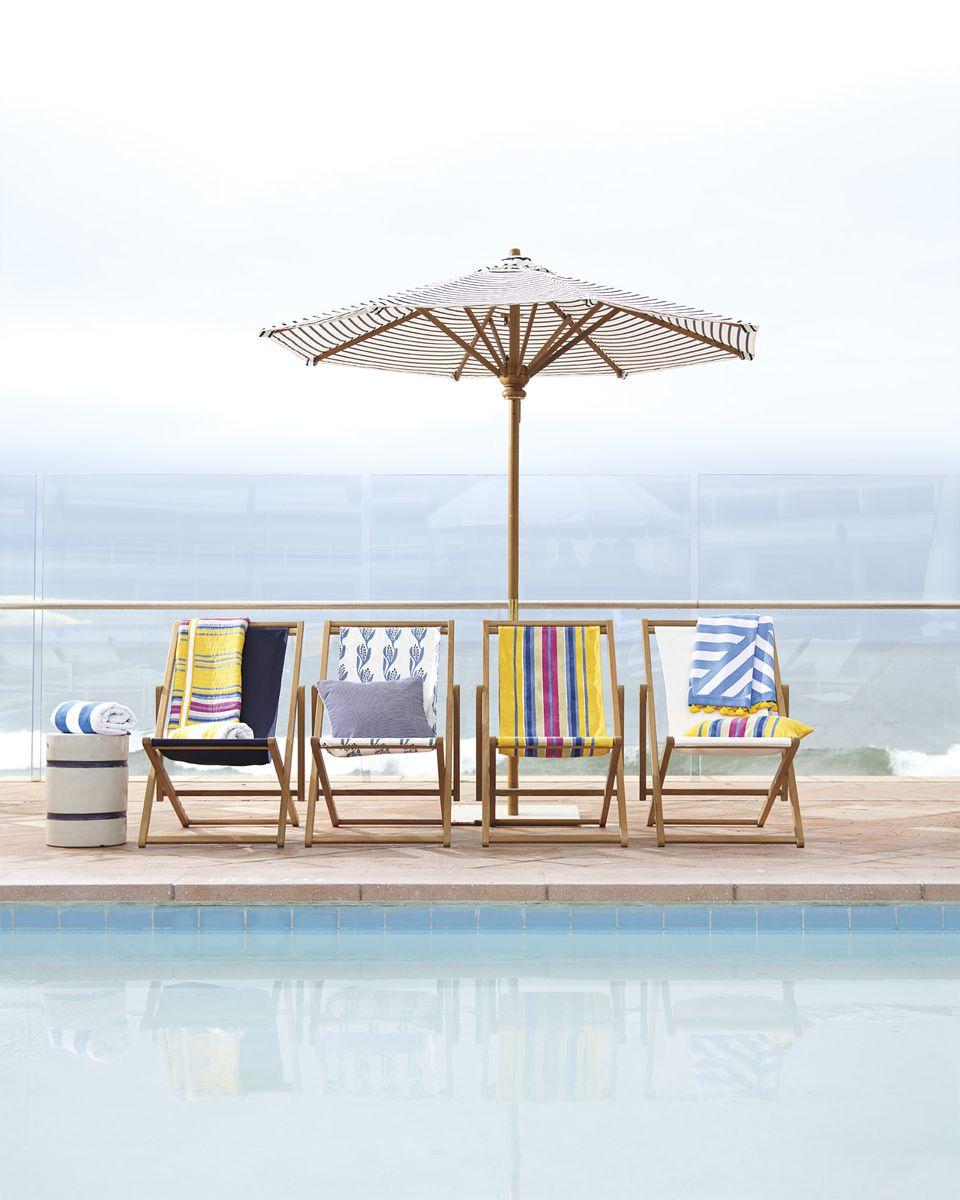 beach sling chairs