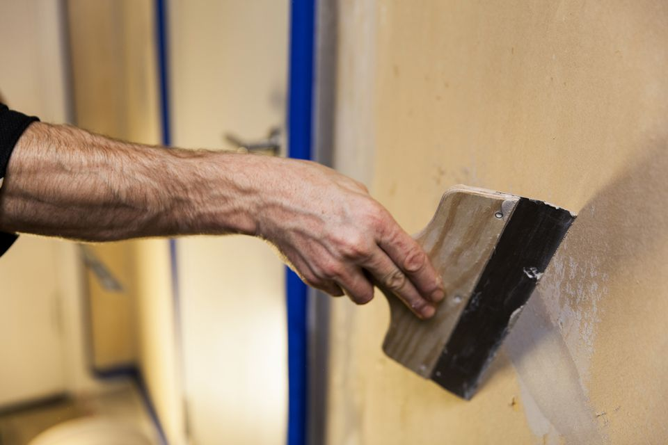 Repairing Plaster Wall