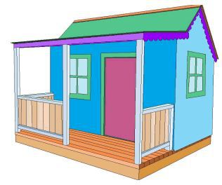 the best free plans for childrens playhouses