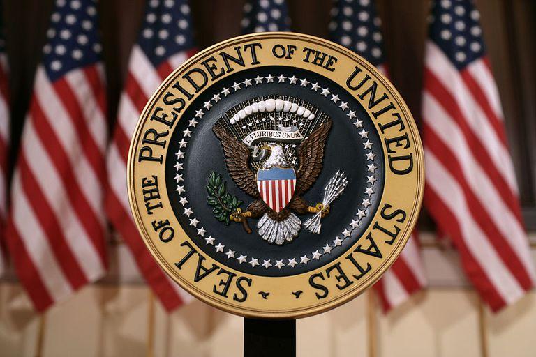 Sello del presidente de estados unidos
