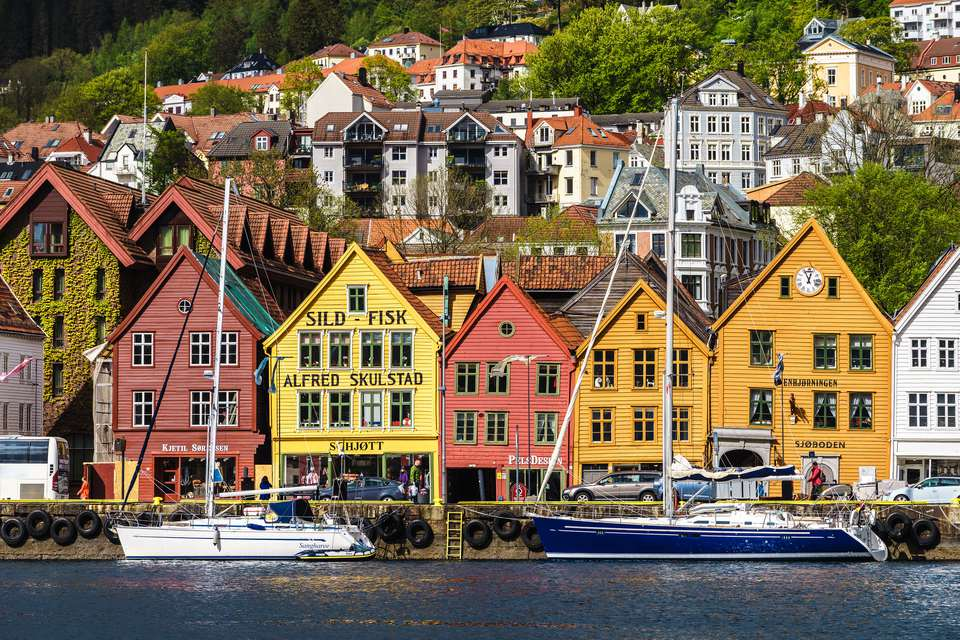 The old centre of Bergen (Bryggen), Norway