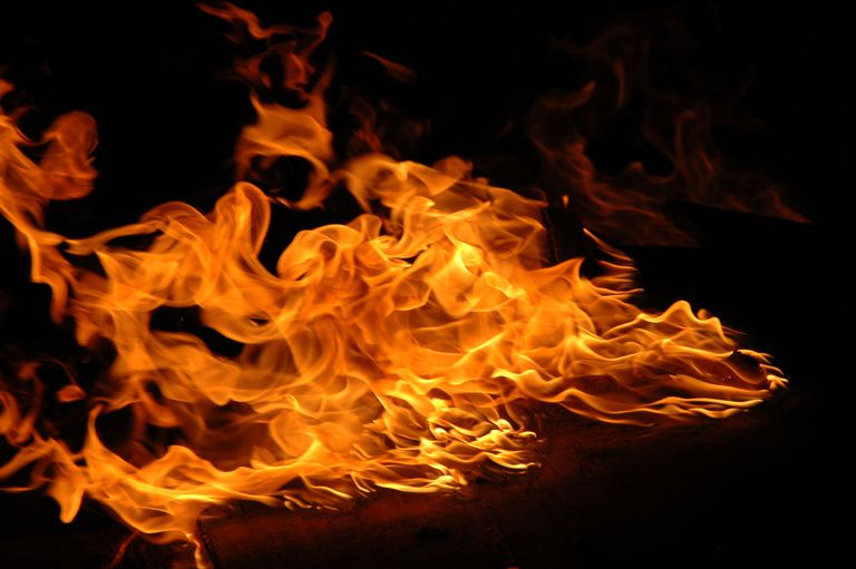There is more to a fire than just light and heat. You'll also find hot gases and particulates.