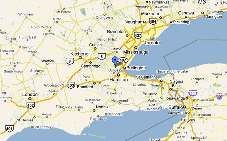 Dundas Ontario Location And Population - Where is buffalo