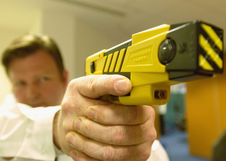 Police Launch The New Taser Gun