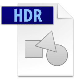 Picture of the HDR file icon