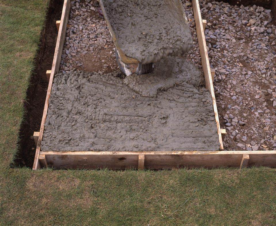 When is the best time to pour a concrete patio for What temperature to pour concrete outside