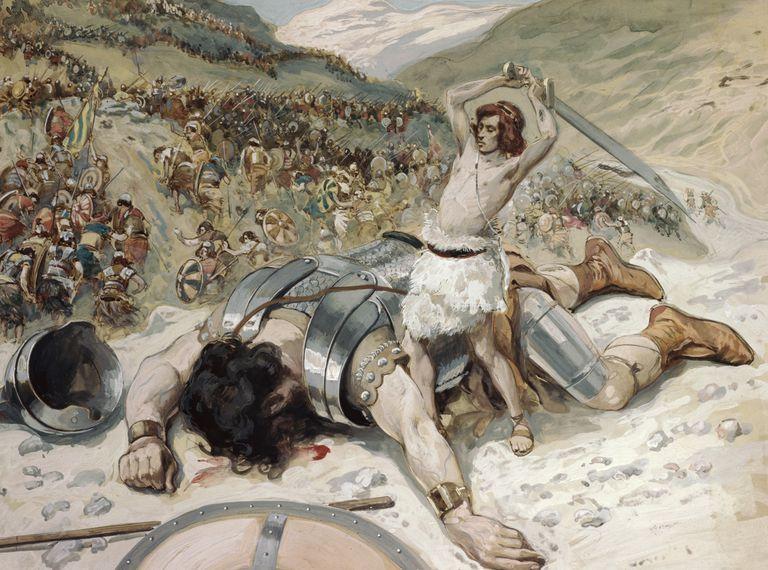 David and Goliath - Comparative Correlative