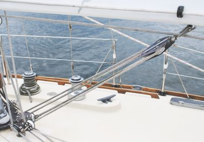 The Mainsheet Traveler Allows For Changing The Position